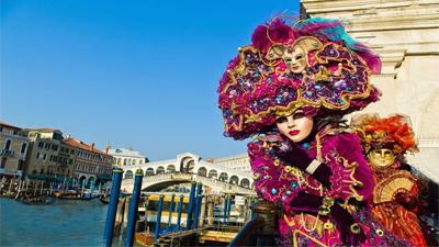 Carnaval de Viareggio et Venise